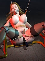 Fantasy Heroine gets abused and screwed by Partner
