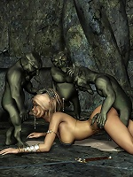 Tender Elven Priestess poses naked and gets filled