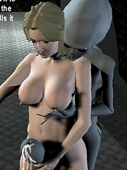 Innocent 3D miss in the doctors chair