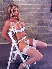 Hot Girl in BDSM