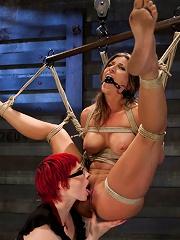 Lesbian 5 Slave Training...