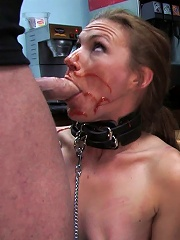 Hot amateur fucked in diner...