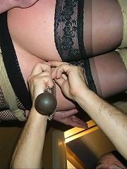 Suspension Bondage with heavy...