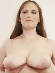 MILF with natural tits and natural bush gets plowed!