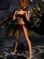 She is the last World of Porncraft doxy, and that monster gives her less than half of the f-word!