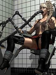 Hardcore BDSM 3D Comics