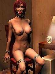 Dirty BDSM 3D Comics