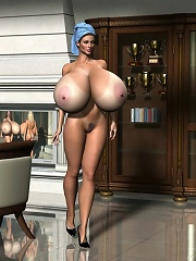 3D Elf Girl dominating and fucked