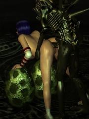 Filthy Elf Girl gets attacked and cums