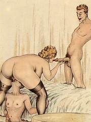 3D Sorceress licks dick before gets fucked