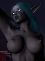 Nymph Hooker swallows Crusader and gets fucked