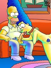 Simpsons porn insanity