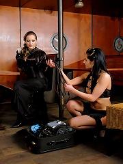 Public Humiliation by Pro Female Dominatrix!