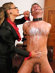 FemDom Therapist Treats Patient to Splendour of Hot Wax, Bondage and Verbal Humiliation