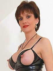 Latex and leather mature