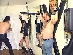Old gay slaves love the abuse they get
