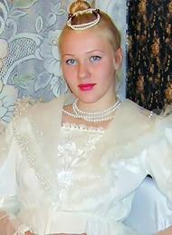 Depraved teen-aged bride