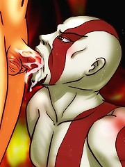 Kratos and the Goddess of Lust