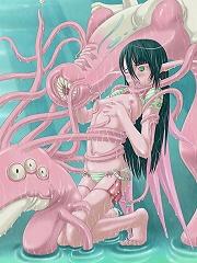 Enjoy some steamy tentacle porn