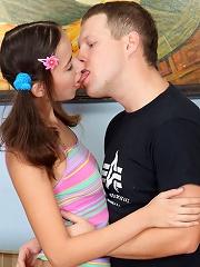Horny teen girl