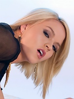 Krissy Lynn is out for a fun, carefree, good time tonight but she wants you to pay extra special attention to one specific erogenous zone on her sexy,
