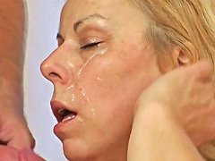 Blonde Granny Wakes Him Up For An Anal Fuck Mature'ndirty Txxx Com