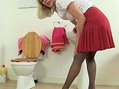 My Favourite British Milfs In The Bathroom