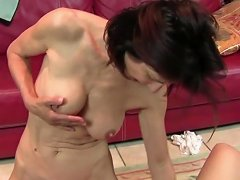 Hairy Mature Mother Fucked By Shaved Mother