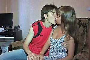 Hot Session For A Teen Lady