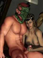 Poor Priestess gets hard ripped