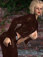 3D BDSM Toons