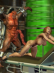 3D miss stroking Devil and...