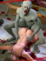 3D Housemaid is screwed by Gentlemans penis