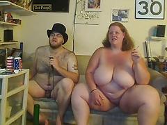 BBW Couple on cam