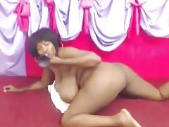 ebony milf huge tits