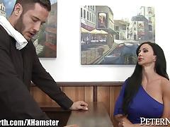 Huge Tits MILF Jewels Jade gets Big Bartender Cock