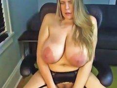 A Primer Mature Mom Saggy Big Huge Natural Tits