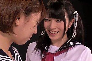 Petite Japanese Schoolgirl Fingering Les Cunt Free Porn 8b