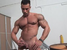 There's a new man in town. He's long and lean, hot and cold, and packed with powerful muscle head to toe. He's Gianluigi Volti, a hands