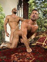 Muscle bears fuck hard - Damien Crosse & Bruno Bond sex pictures