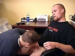 Sweet cute lad gets a nice blowjob from a sexy lover