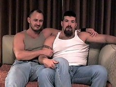 Cocks and assholes are on the menu when these two bears get together to fuck