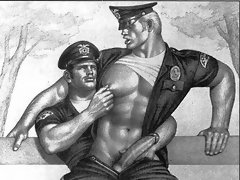 A free gallery with sexy gay drawing porn