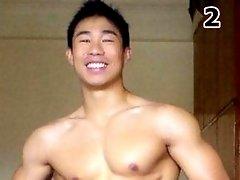 Gay asian solo masturbation video