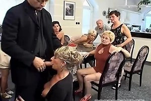 Studs Fuck A Group Of Mature Ladies