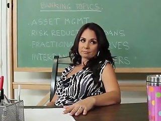 Wow Busty Teacher Holly Fuck In Classroom