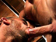 Muscle bears Jason Adonis and Damien Crosse
