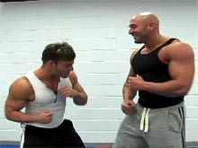 Muscle wrestlers hardcore movies