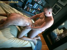 These Wisconsin bears have been together for years and they get hot and heavy several times a week. They love to swap fucks and they aren't shy a