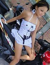 free asian gallery Hot Thai teen named Miy...